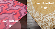 Which Rug is Perfect for Your Home; Hand Tufted or Hand Knotted Rugs?