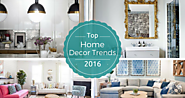 Top Home Décor Trends for 2016