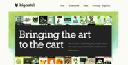 Big Cartel - Simple shopping cart for artists, designers, bands, record labels, jewelry, crafters