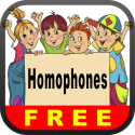 Homophones Free - English Language Art Grammar App