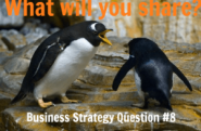 Business Strategy Question #08: What will you share?