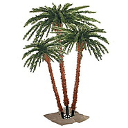Sterling 3240-456c 4-Feet, 5-Feet and 6-Feet Pre-Lit Palm Tree Clear Lights