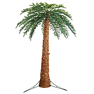 Sterling 3220-12c 12-Feet Pre-Lit Palm Tree Clear Lights