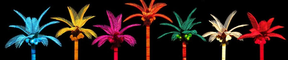 Headline for Artificial Lighted Palm Trees I Love - My List
