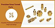 High Quality Precision Brass Turned Parts Manufacturers India