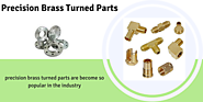Get custom solutions of precision brass turned parts