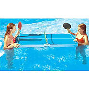 Floating Ping-Pong Table Swimming Pool Game