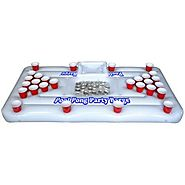 GoPong Floating Beer Pong Table with Cooler