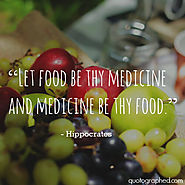 A Quote by Hippocrates on Food