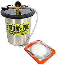 3 Gallon Shatter Vac Stainless Steel Vacuum Chamber