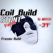 FROZEN COIL BUILD STUNT -39 °C ( Attempt ) Awareness Message !