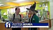 Potter mania flies to BYU