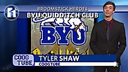 BYU Quidditch Club rising in popularity Tyler Shaw