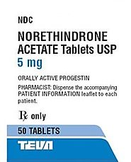 Buy Norethindrone Acetate 5mg Online