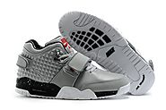 "2016 Clearance Nike Air Trainer V Cruz Prm""Wolf Grey""Grey Gris Mens Shoes On Sale Oulter 777535-001"