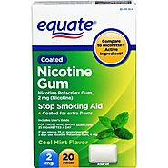 Equate - Nicotine Polacrilex Gum