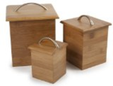 Core Bamboo Canister Set