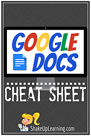 Google Docs CHEAT SHEET!