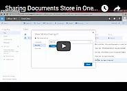 Sharing Documents Saved in OneDrive | OfficeNewb Microsoft Office Training Blog