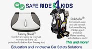 Safe Ride 4 Kids | RideSafer Vest | Tummy Shield | Car Seat