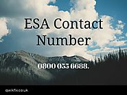 ESA Phone Number - ESA Contact Number 0800 055 6688