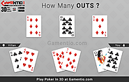 I'm All In: Three Way Action, but how many cards will win you the hand?