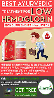 Best Ayurvedic Medicine for Hemoglobin, Iron Supplements in Ayurveda
