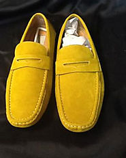 Yellow Dress Shoes Mens