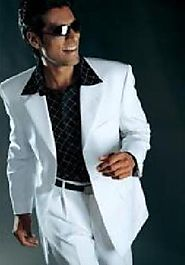 White Mens Suit - A Perfect Style
