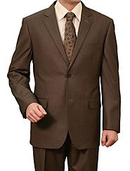 Get Classy Look With Brown Suits