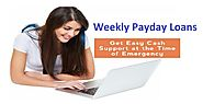 Weekly Payday Loans – Helpful To Overcome Hard Financial Times With Ease!
