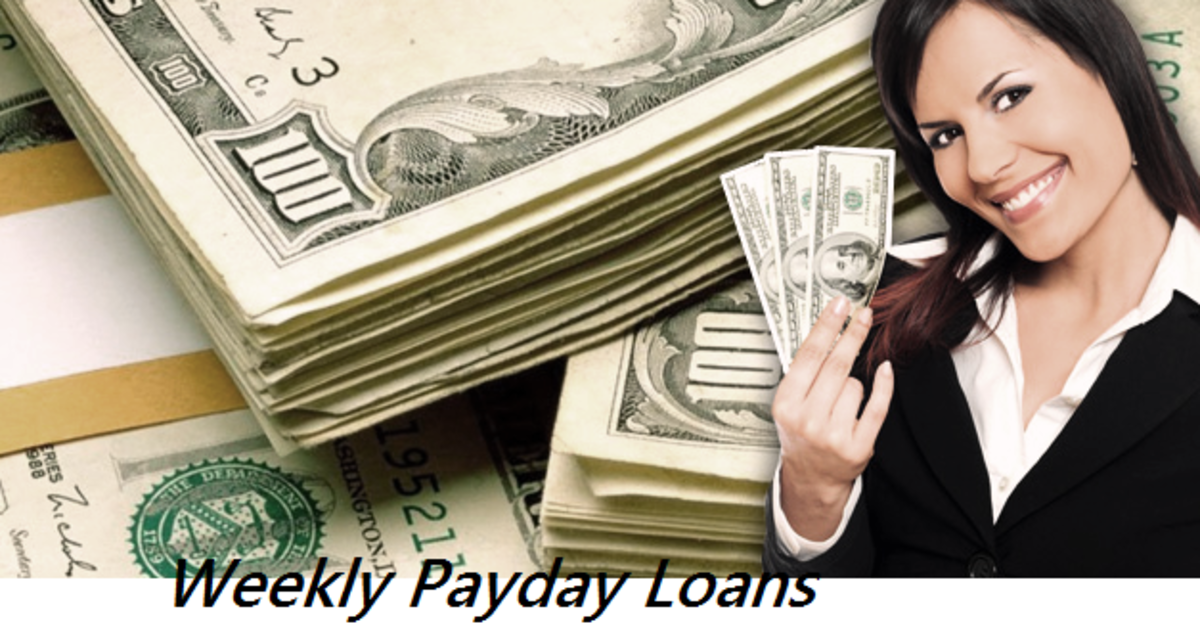 Headline for Weekly Payday Loans