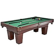 MD Sports Traditional Square Leg Billiard Table, 8'