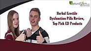 Herbal Erectile Dysfunction Pills Review, Top Pick ED Products