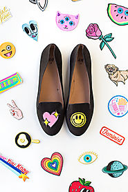 DIY No-Sew Embroidered Loafers - Studio DIY