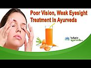 Poor Vision, Weak Eyesight Treatment In Ayurveda
