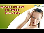 Ayurvedic Treatment For Pimples, Acne In India