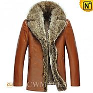 CWMALLS® Mens 2in1 Fur Trimmed Jacket CW857365