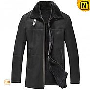CWMALLS® Winter Shearling Leather Coat CW833278