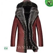 CWMALLS® Chicago Fur Trimmed Coats Hood CW836065