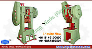 Pillar type Power Press india