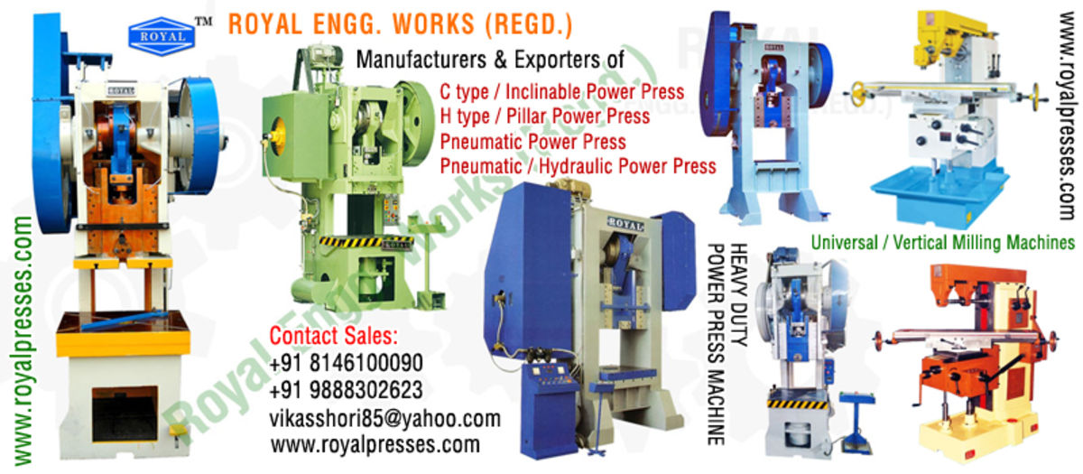 Headline for ROYAL ENGG. WORKS (REGD.)