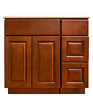 Kingston Brown Bathroom Cabinet by Summit Cabinets