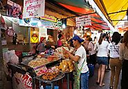 Wang Lang food market
