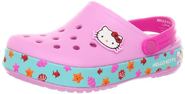 crocs 14022 CB Hello Kitty Clog,Carnation/Neon Magenta,12 M US Little Kid