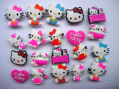 20 Hello Kitty Shoe Charm Fits Jibbitz Croc Shoes & Bracelets