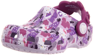 Crocs Hello Kitty Forest Clog (Toddler/Little Kid),Lavender/Viola,6 M US Toddler