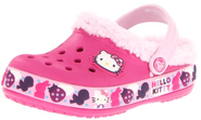 Crocs Mammoth Hk Birds & Bunnies Clog (Toddler/Little Kid/Big Kid),Fuchsia/Bubblegum,6 M US Toddler