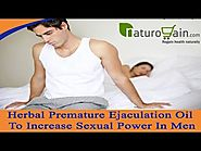 Herbal Premature Ejaculation Oil To Increase Sexual Power In Men