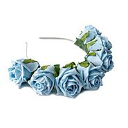Whole Lotta Rosie Headband - Baby Blue
